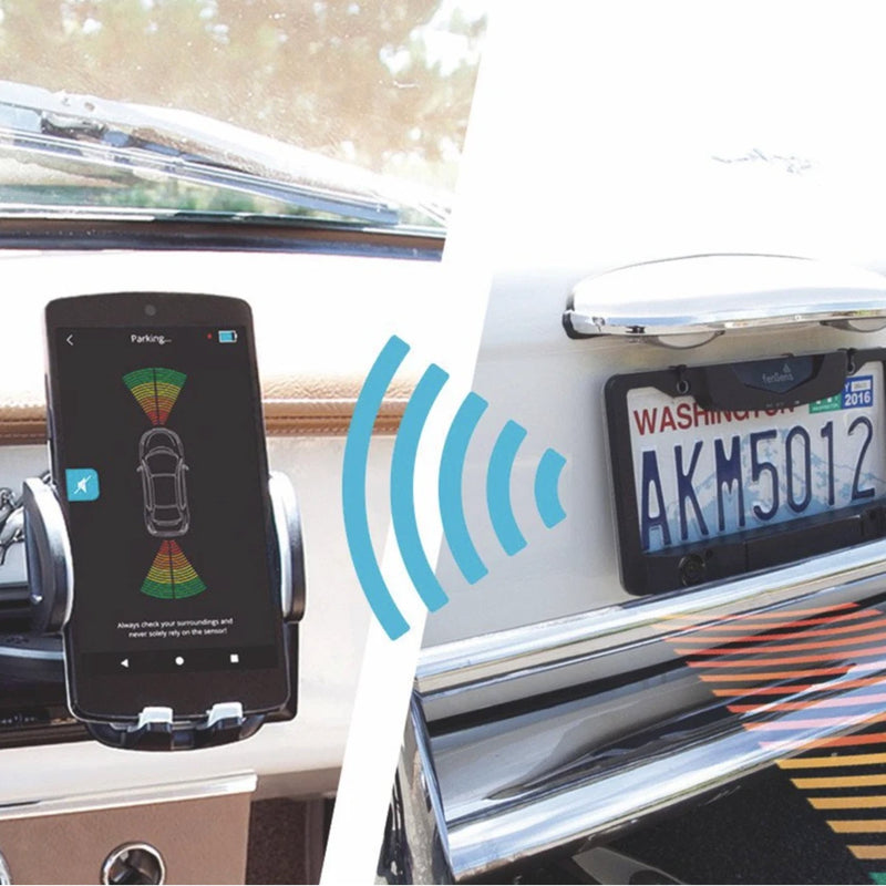 wireless backup camera sensors connect to fensens