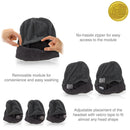 wireless smart beanie how to infographic
