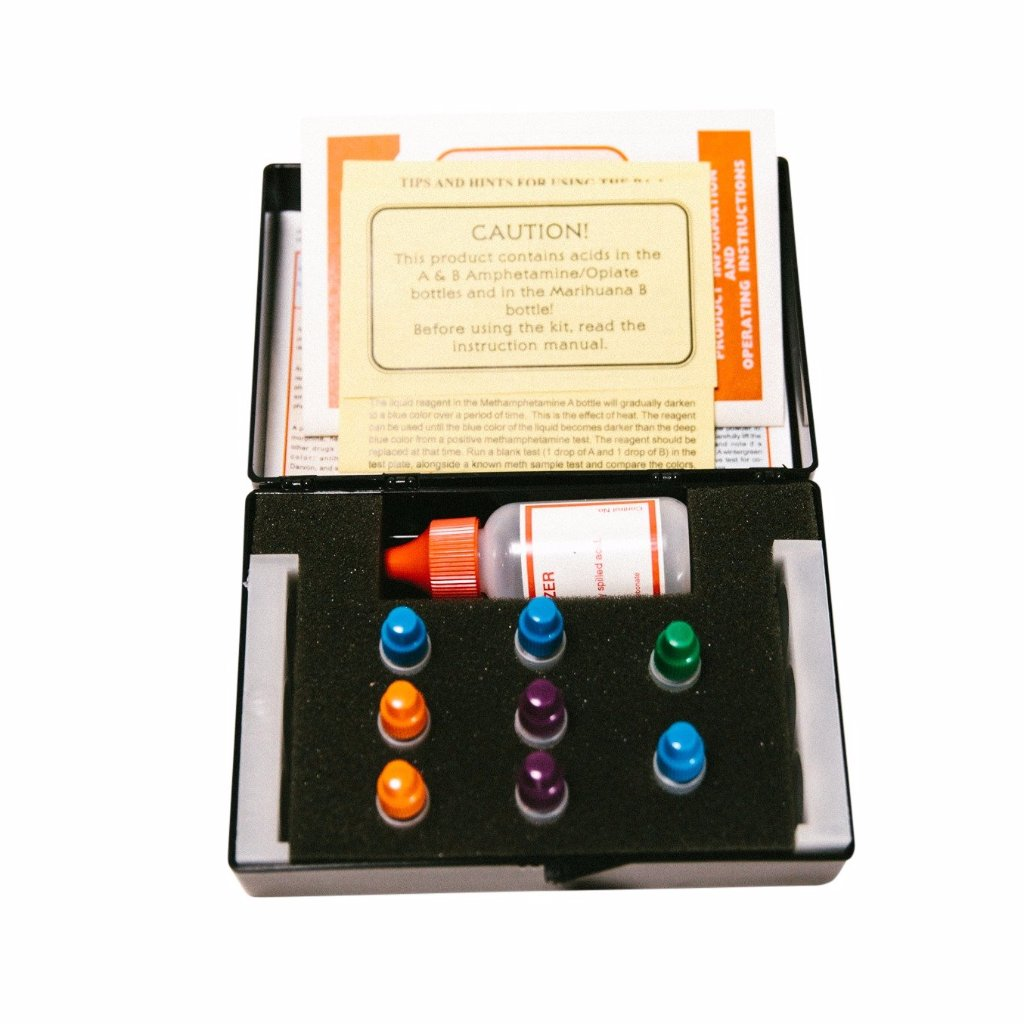 BA-1 Drug Detection and Identification Kit, Basic