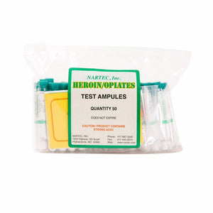 HR-1 Heroin/Opiates Test (Bag of 50)