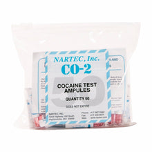 "CO-2 Cocaine/""Crack"" Test (Bag of 50)"