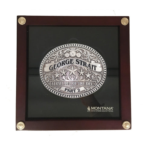 George Strait Belt Buckle