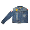 80s Singles Patch Denim Jacket (Women's)