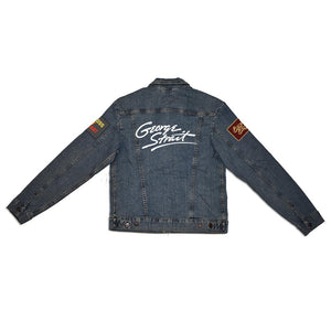 90s Singles Patch Denim Jacket (Men's)