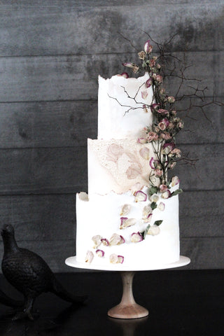 Inspired And Unique Cake Art To Compliment Your Special Day