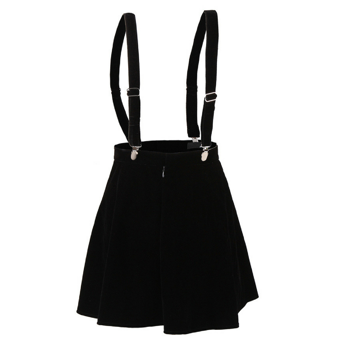 Suspender Mini Skirt