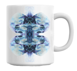 Skull Mirror Effect Design Mug