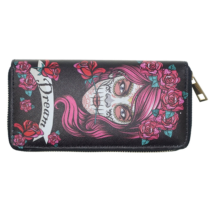 Long Skull Head Purse