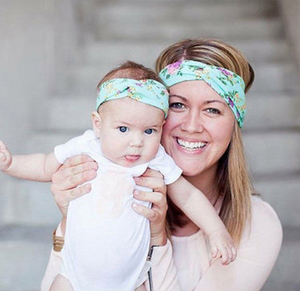 Mother and daughter headband