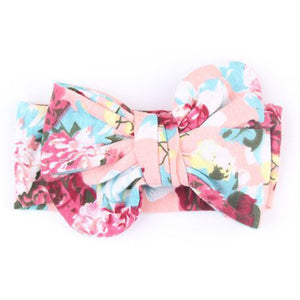 Baby girl flowers headband