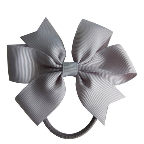 2 pcs hair bow girl elastic