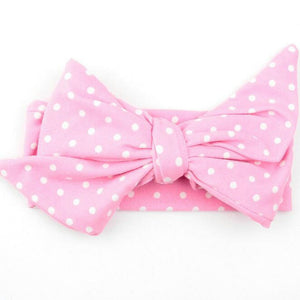 Big bow headband fille