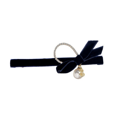 Barrette fine fashion perle luxe