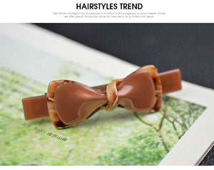 Luxury retro woman barrette