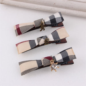 British style ribbon clips