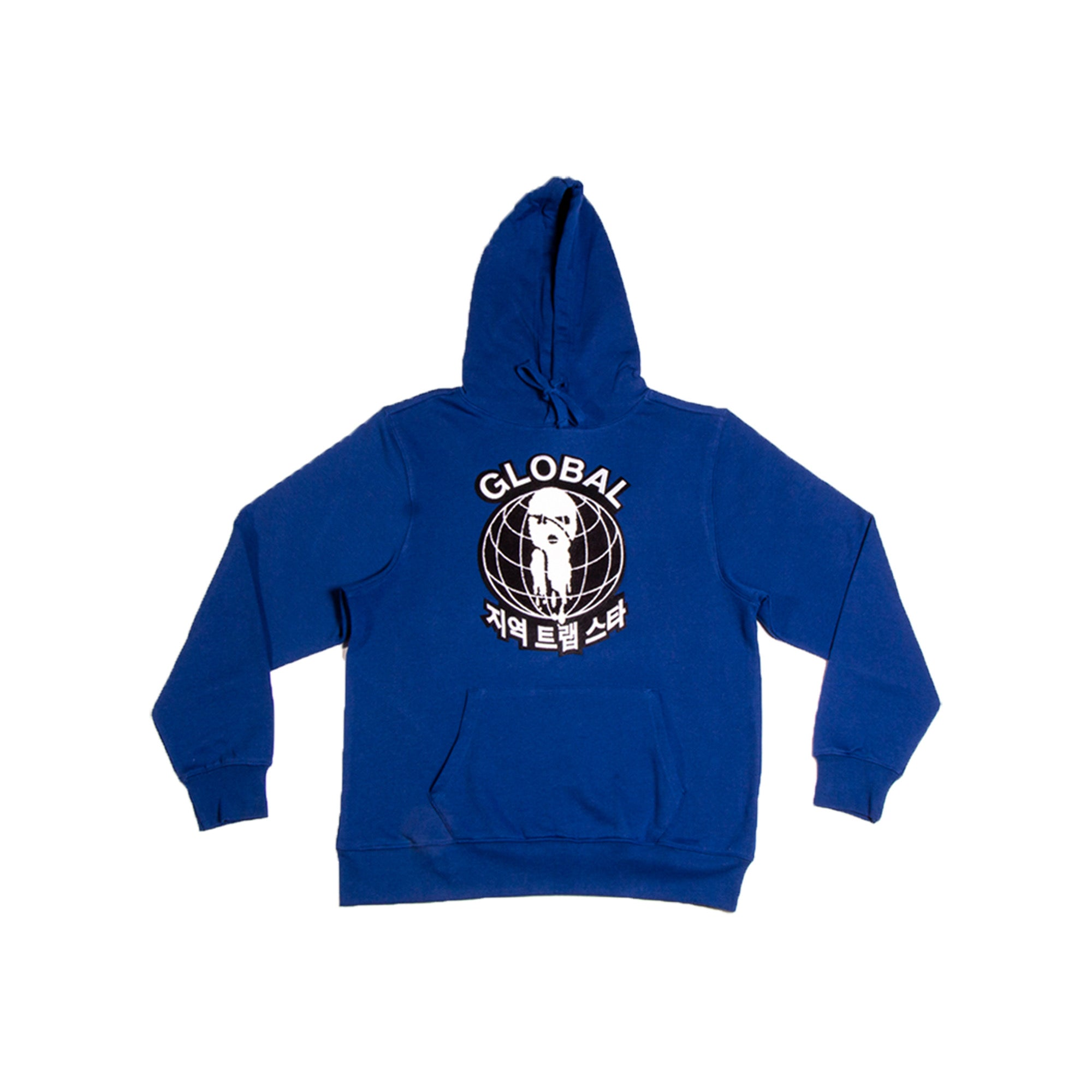 Royal Blue Global Hoodie