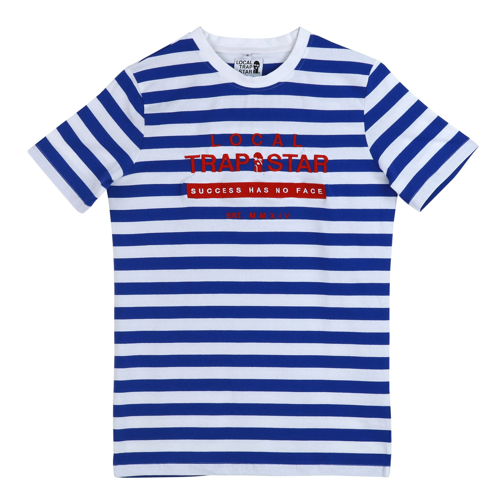 LTS Blue Striped Tee