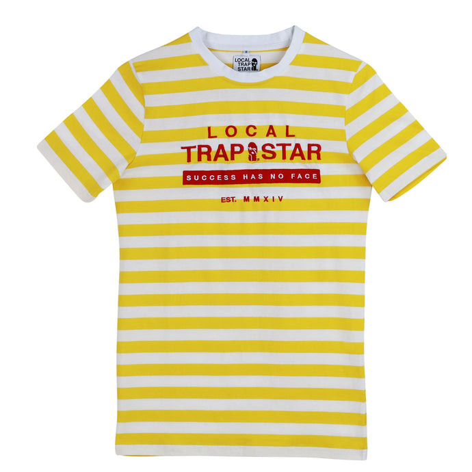 LTS Yellow Gold Striped Tee