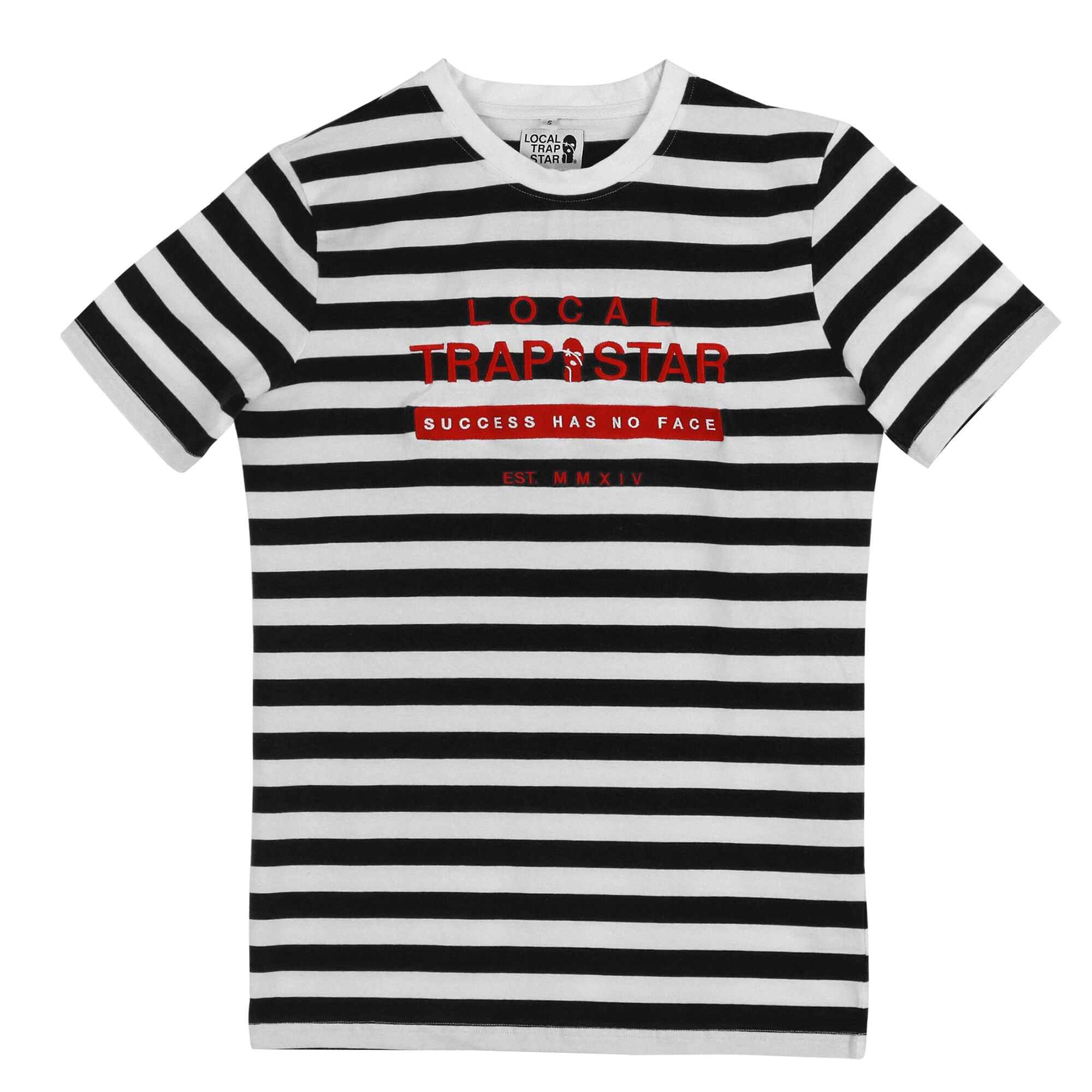 LTS Black Striped Tee