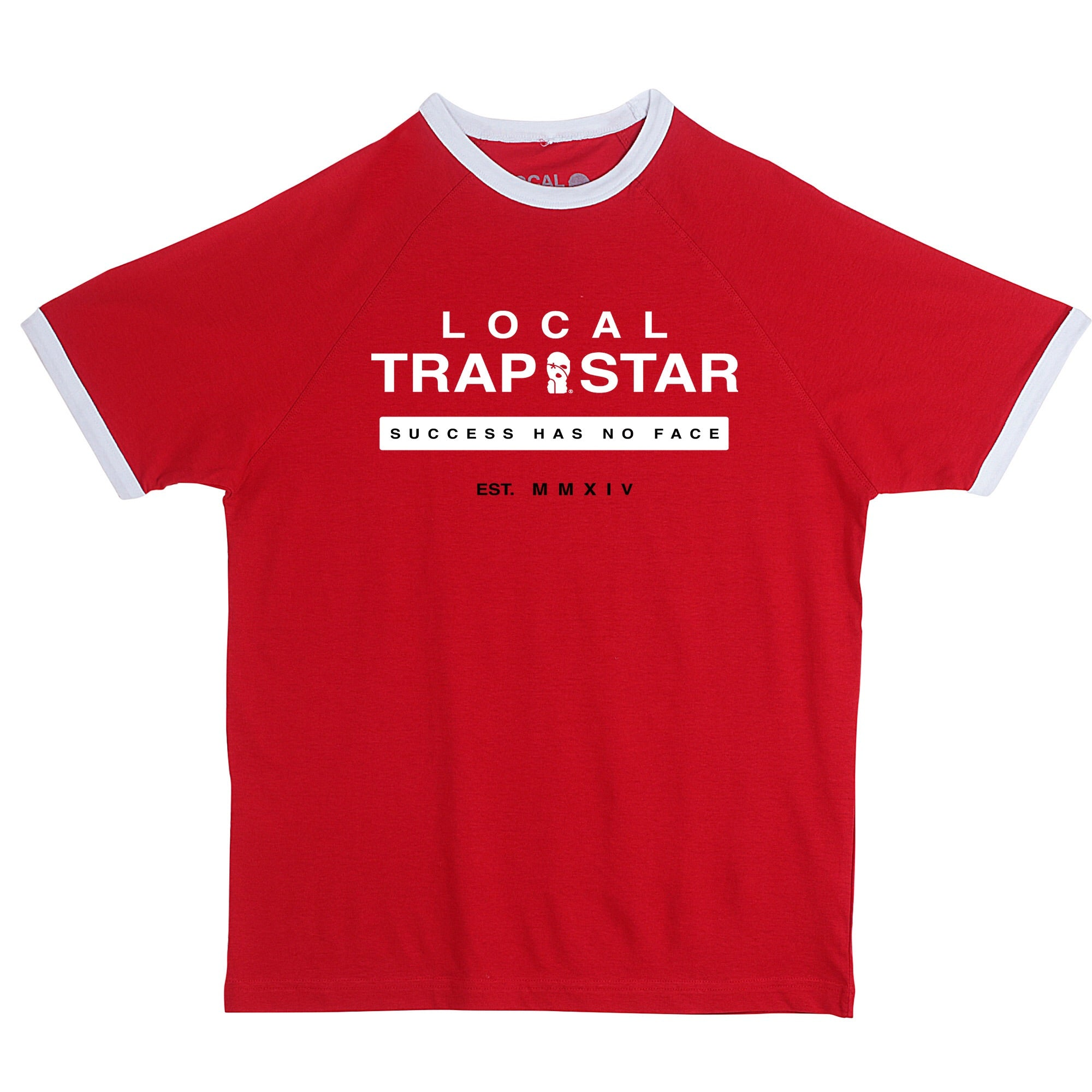 LTS Red  Ringer Tee