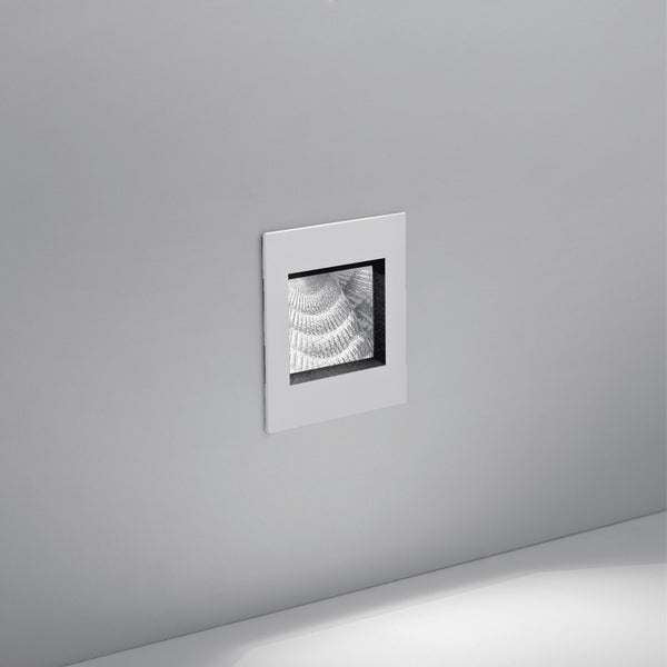 Aria mini wall recessed 4W white