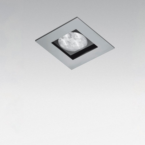 Zeno up 3 wall/ceiling recessed IP40 25° grey - artemidestore.ca