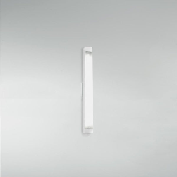 2.5 Square strip 26 wall/ceiling Fluorescent 24W gloss white - artemidestore.ca