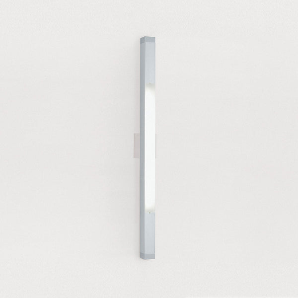 2 Square strip 50 wall/ceiling FLU 21W G5/T5 HE aluminum
