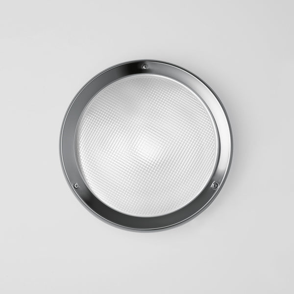 Niki wall/ceiling LED w/prismatic glass diffuser