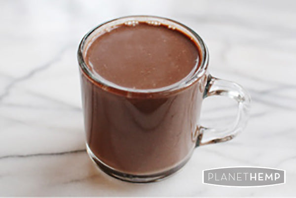 HOT CHOCOLATE HEMP MILK