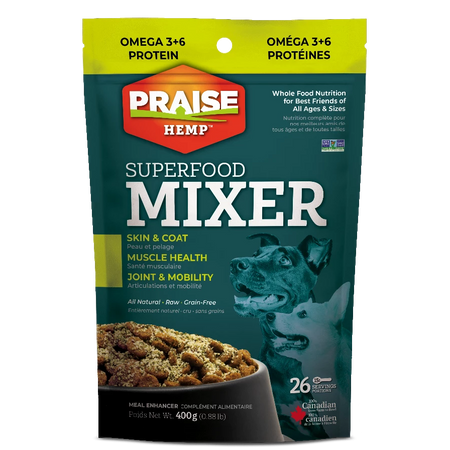 Praise Hemp Superfood Mixer For Dogs