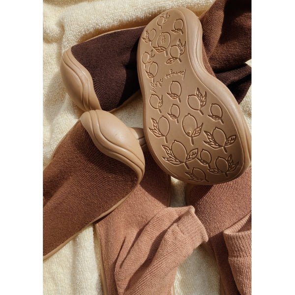 SOCK SLIPPERS | MOCCA