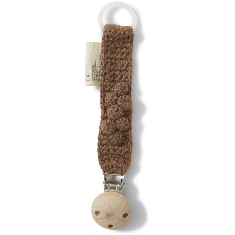 TOMA PACIFIER STRAP | Almond