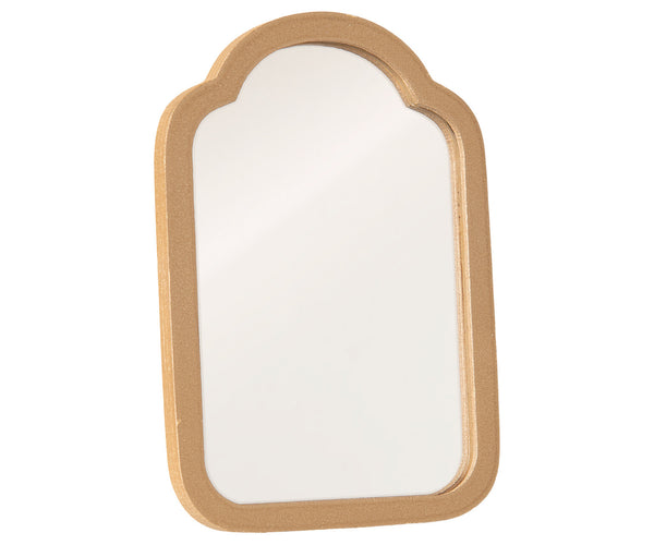 Miniature Gold Mirror