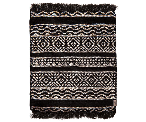 Miniature Rug | Black