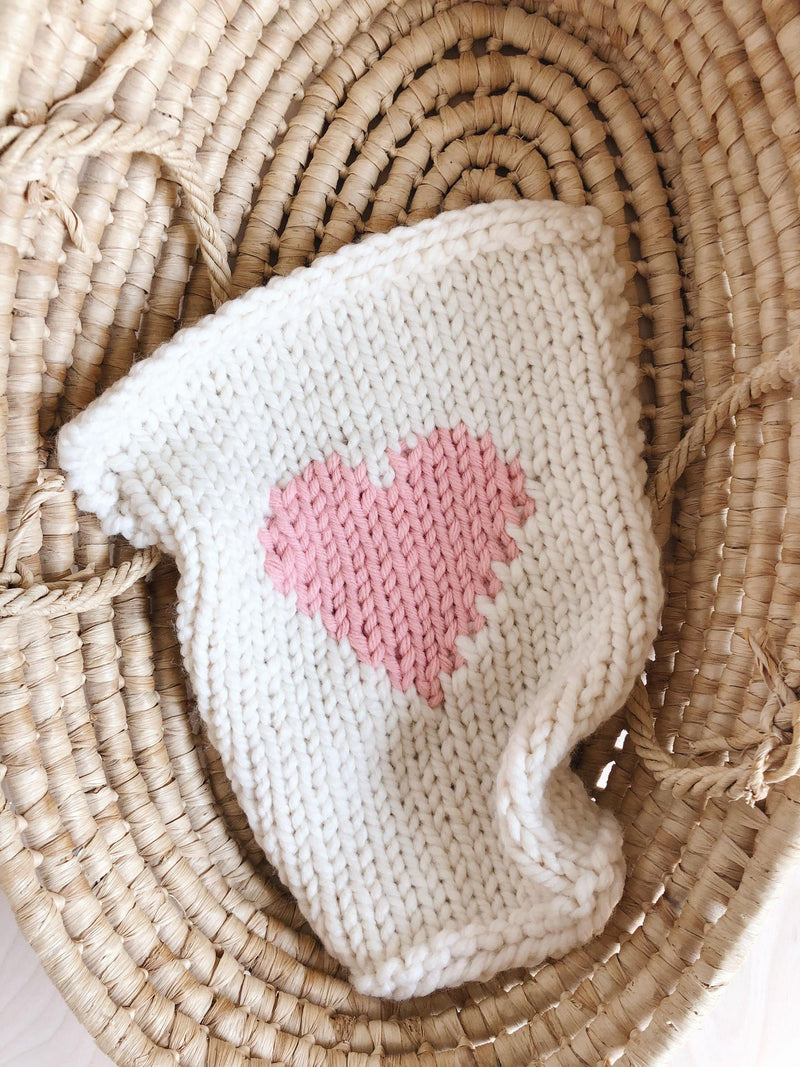 Doll blanket | Pink Heart