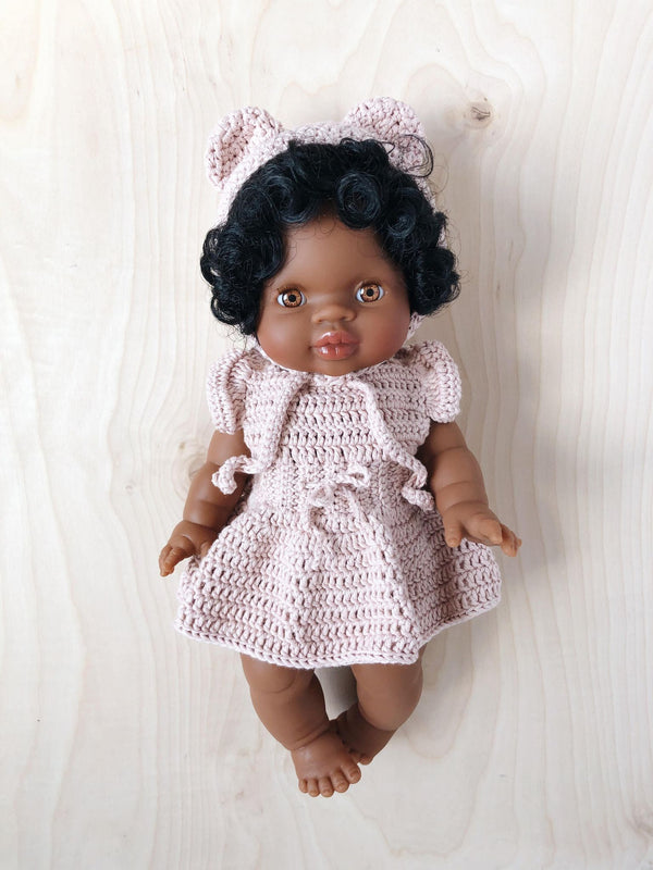 Doll Crochet Dress | Mauve