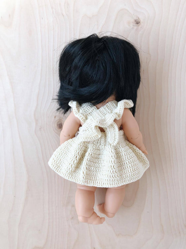 Doll Crochet Dress | Ivory