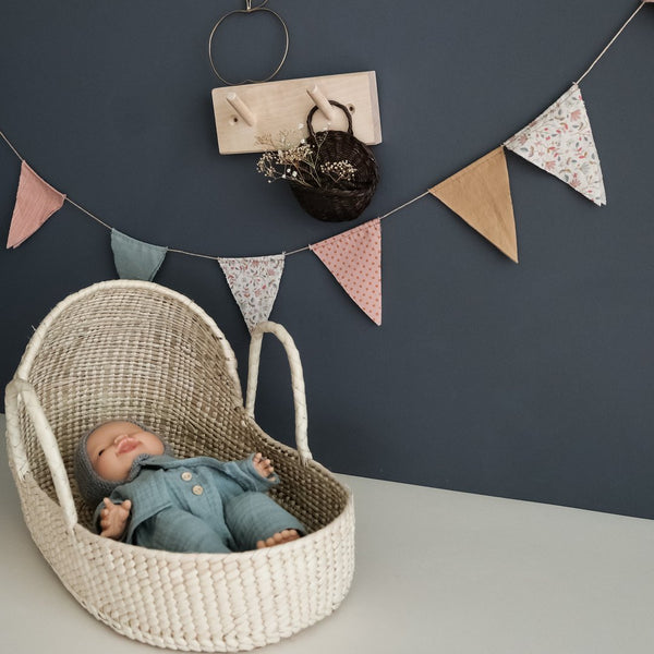 Handmade doll bassinet