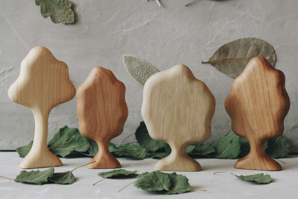 Wooden Tree set