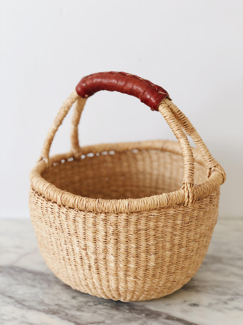 Mini Handwoven market basket