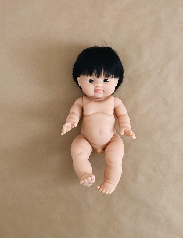 Jude | Boy doll with hair | Asian