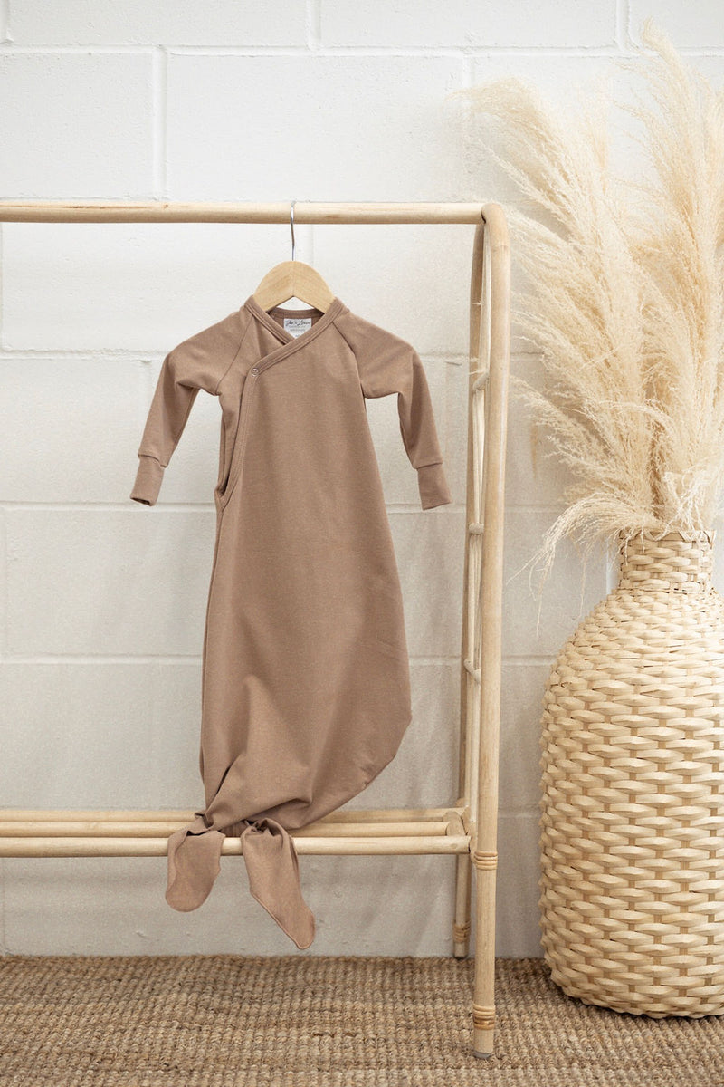 Infant Knot Gown | Fawn