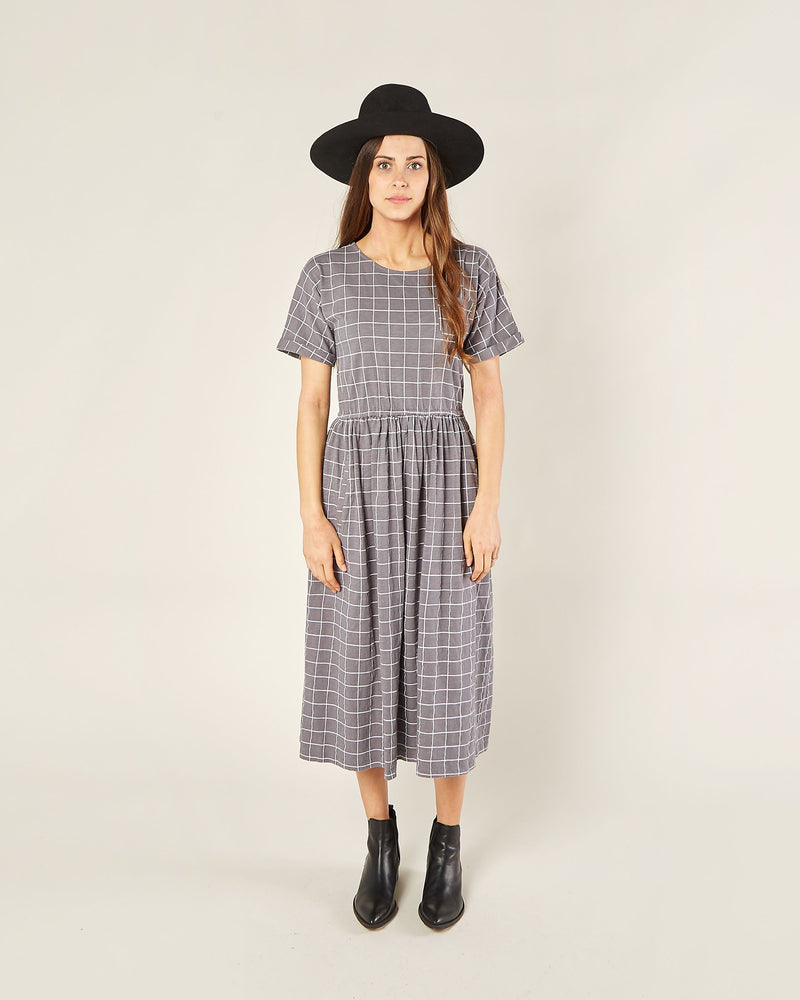 Women's Kat Dress | Wavy Check
