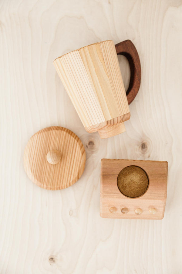 Handmade Wooden Blender Toy