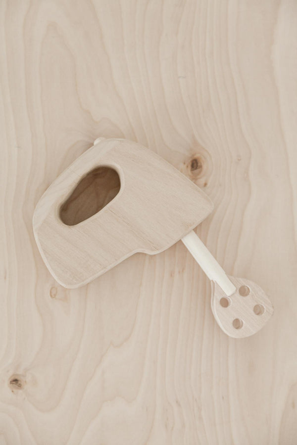 Handmade Wooden Mixer Toy