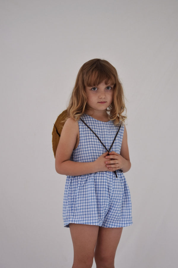 Juneau Sunsuit | Bluebird Check