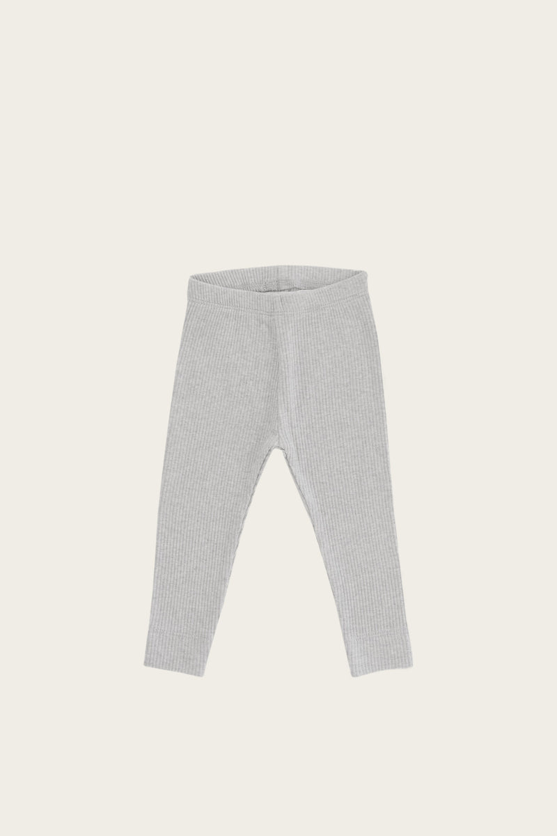 Essential Leggings | Light Grey Marle