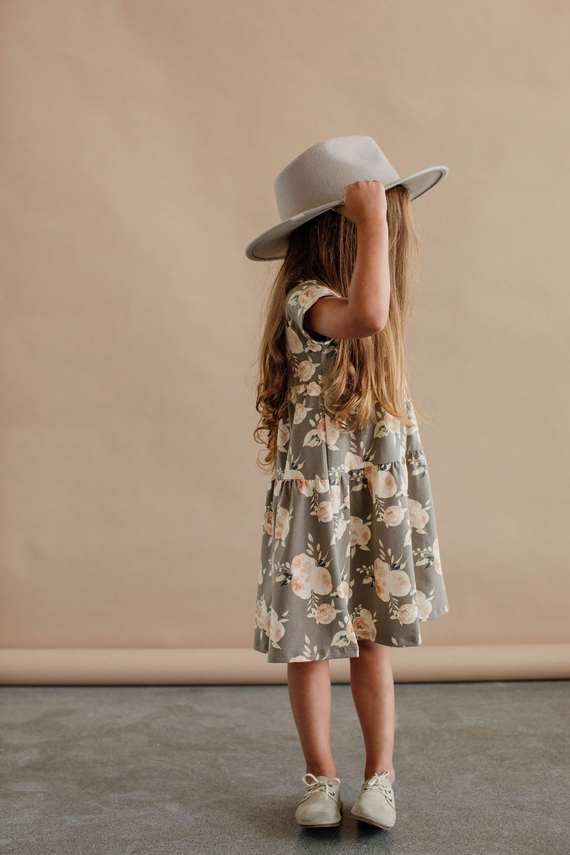Double Ruffle Dress | Floral