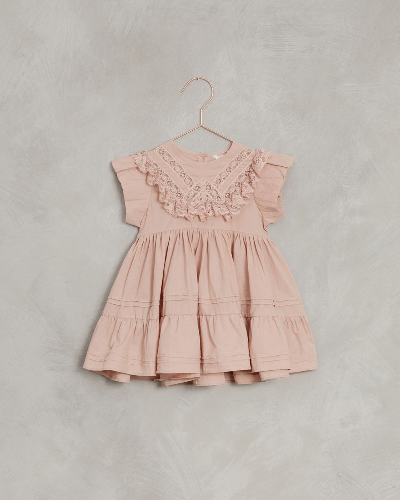 goldie dress | dusty-rose